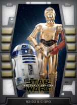 R2-D2 & C-3PO - 2020 Base Series 2