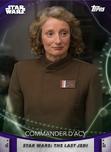 Commander D'Acy - Topps' Women of Star Wars