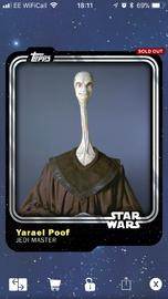 Yarael Poof - Jedi Master - Base Series 1