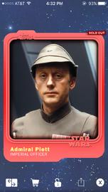 Admiral Piett - Imperial Officer - Base Series 1