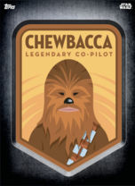 Chewbacca - Digital Patches