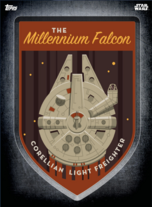 Millennium Falcon - Digital Patches