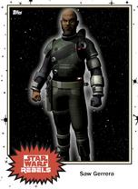 Saw Gerrera - Base Series 4 - Rebels