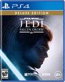 Star Wars Jedi Fallen Order PS4 Deluxe Edition Cover
