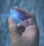 Kyber crystal-blue