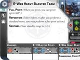 E-Web Heavy Blaster Team