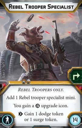 Rebel Trooper Specialist