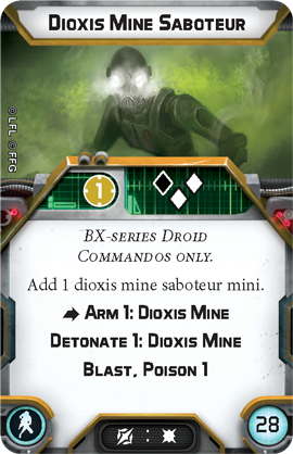 Dioxis Mine Saboteur