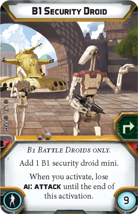 B1 Security Droid