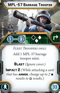 MPL-57 Barrage Trooper