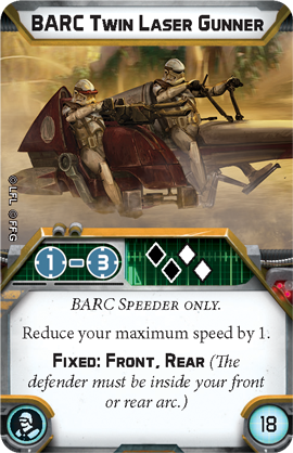 BARC Twin Laser Gunner