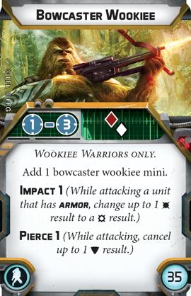 Bowcaster Wookiee