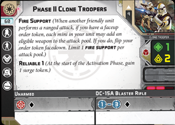Phase II Clone Troopers
