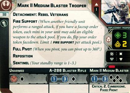 Mark II Medium Blaster Trooper