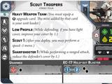 Scout Troopers Strike Team