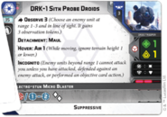 Drk-1 sith probe droids old