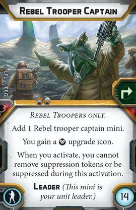 Rebel Trooper Captain