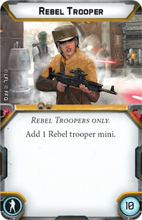 Rebel Trooper (Personnel)