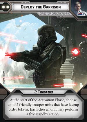 Deploy the Garrison