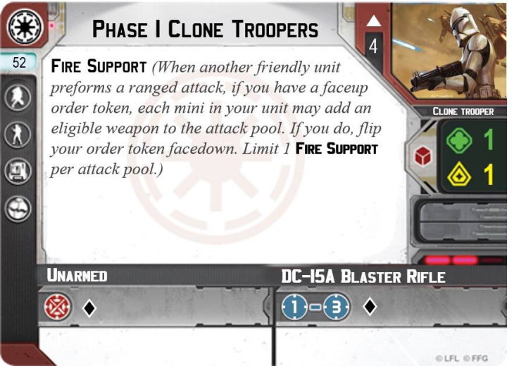 Phase I Clone Troopers