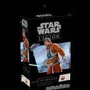 Limited luke skywalker commander box