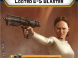 Looted E-5 Blaster