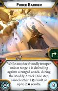 Force barrier