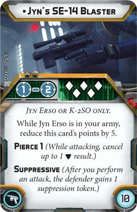 Jyn's SE-14 Blaster