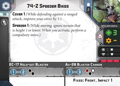 74-Z Speeder Bikes