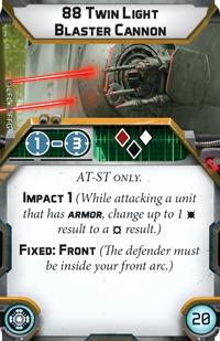 88 Twin Light Blaster Cannon