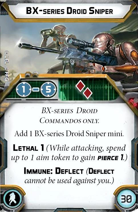 BX-series Droid Sniper