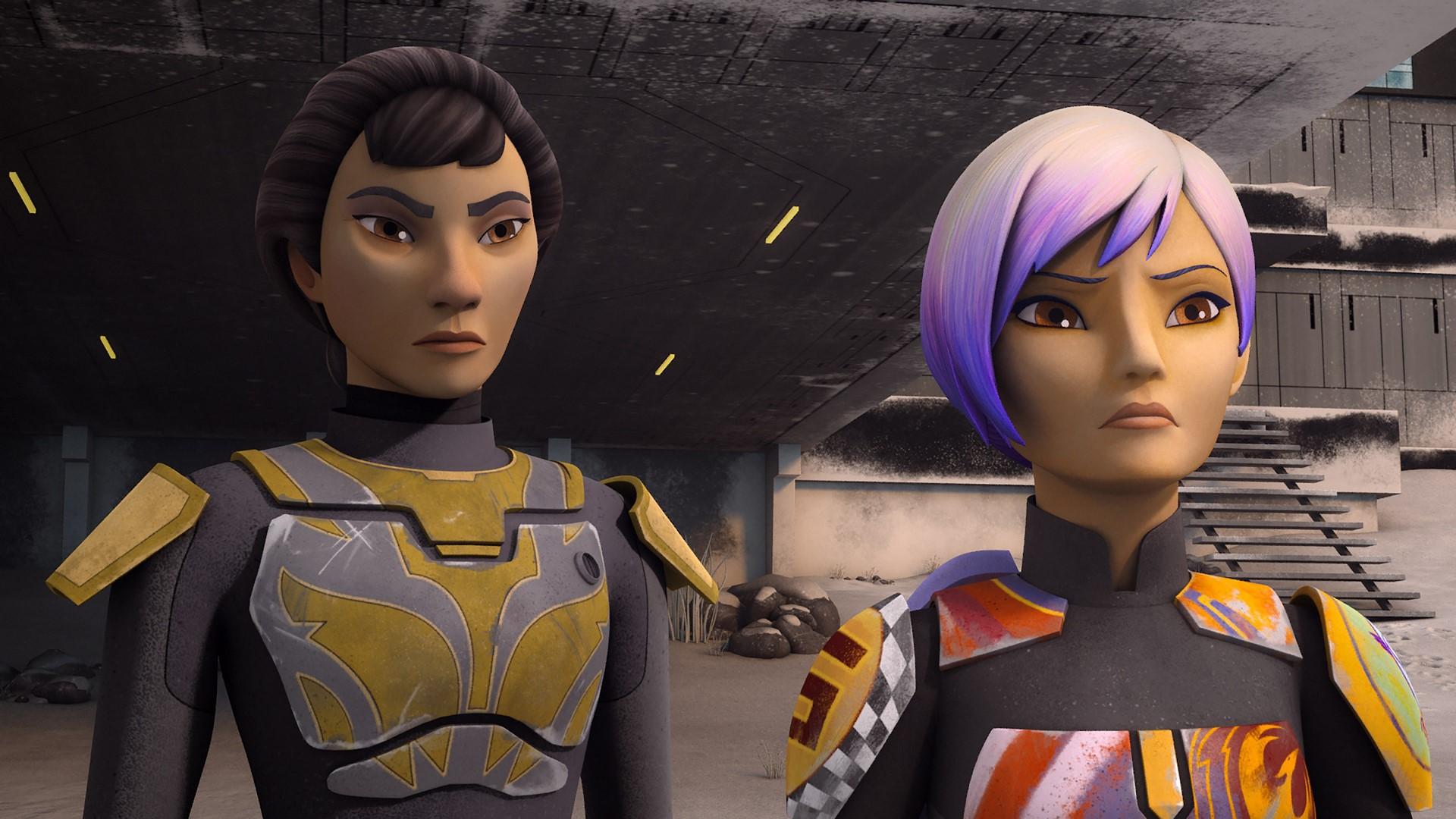 Sabine hot star wars rebels Sabine's Sick