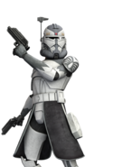 Clone Commander Wolffe Phase 2