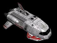 """Gama 6 assualt shuttle, """"Bad Luck"""""""