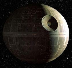 Космічна станція, відома по як «Зірка Смерті»