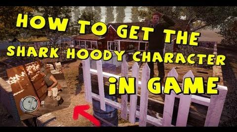 State Of Decay - How To Get The Shark Hoodie Costume Character IN GAME