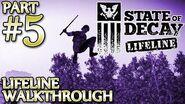Ⓦ State of Decay Lifeline Walkthrough - Part 5 ▪ Rescuing Dan Bogatz, Sasquatch, Bloater Hunt