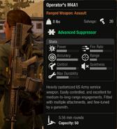 Operator´s M4A1