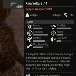 King Vulture .44