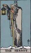 Tarot 09 Hermit