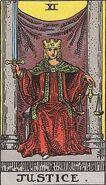 Tarot 11 Justice