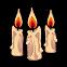 Cinders Emoticon candles