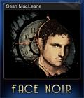 Face Noir Card 4