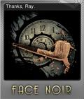 Face Noir Foil 3