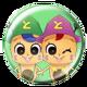Hyperdimension Neptunia ReBirth3 V Generation Badge 1