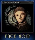 Face Noir Card 5