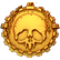 Zombie Driver HD Emoticon medal