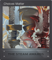 Steam Awards 2017 Card 01