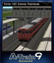 A-Train 9 V4.0 : Japan Rail Simulator - KiHa 183 Series Rainbow