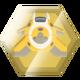 PixenJunk Shooter Badge Foil